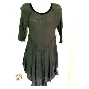 "Free People Intimate Top/Dress ""Hunter Green"""